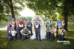 Super Hero Wedding Party    Keywords: #superheroweddings #jevelweddingplanning Follow Us: www.jevelweddingplanning.com  www.facebook.com/jevelweddingplanning/