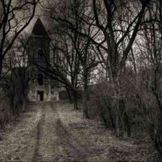 I can feel the eerie silence...would keep walking up the lane with my heart pounding.