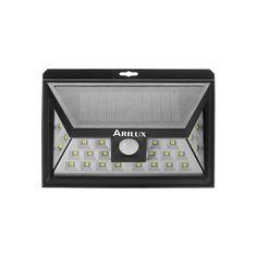 ARILUX® AL-SL09 Sonnenenergie 24 LED wasserdichte PIR Bewegungssensor Licht outdoor Weitwinkel Wand Lampe