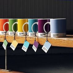 Pantone Cups