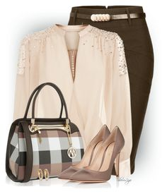 Untitled #2954 by sherri-leger on Polyvore featuring Gianvito Rossi, MKF Collection, Ileana Makri and Kendra Scott