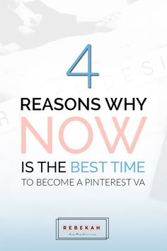 Become a Pinterest Virtual Assistant and start working from home today! This post covers services you could offer and also top reasons why now is the best time to take the leap and become a Pinterest VA. Click through to learn more about this in demand freelance career!