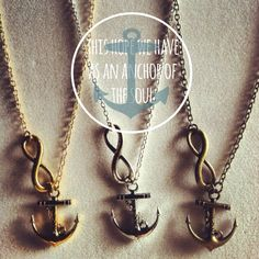 I want this necklace.. now to get it)) Hebrews 6:19