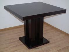 Meble Sandow  STOŁY - Praktyczny, kwadratowy stół Igor 90x90 do 225 cm.