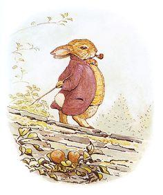 The Tale of Benjamin Bunny (Illustrated) (The Tales of Beatrix Potter Book Tales Of Beatrix Potter, Beatrix Potter Nursery, Funny Illustration, Character Illustration, Beatrice Potter, Benjamin Bunny, Dibujos Cute, Art Inspo, Fairy Tales