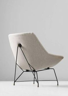 1st Dibs. Augusto Bozzi Easy Chair for Saporiti