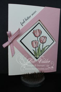 Diamond Gate Fold Card by djlab - Cards and Paper Crafts at Splitcoaststampers