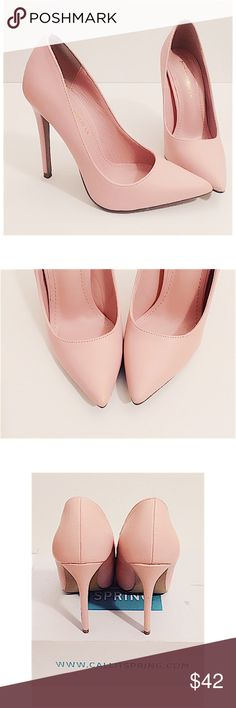Dusty rose pointy basic pumps Your ripped jeans and your fave white tee's best friend. Gorgeous pale pink/Dusty rose color. Only put on to try on. Brand new. sold out everywhere. Amazing quality✅ Shoes Heels