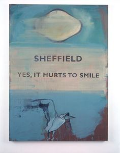 Bad Weather Paintings | Harland Miller | International Lonely Guy