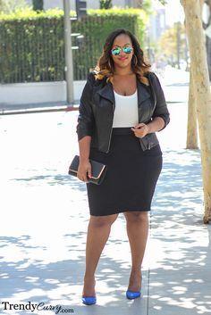 Trendy Curvy - Page 3 of 22 - Plus Size Fashion BlogTrendy Curvy #plussize#outfit#fashion