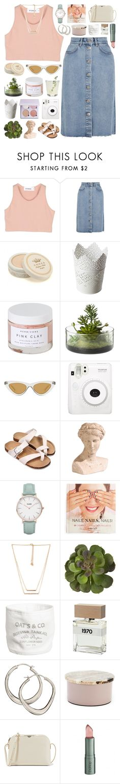 """""""You know careers take off, just gotta be patient"""" by justonegirlwithdreams ❤ liked on Polyvore featuring StyleNanda, M.i.h Jeans, Tocca, Herbivore, Threshold, Le Specs, Ethan Allen, CLUSE, Chronicle Books and Forever 21"""