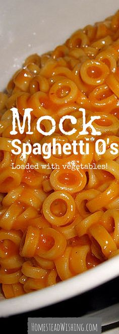This mock spaghetti Zeros recipe is quick, easy, and packed with veggies. did I mention that you can freeze this recipe? Do your kids like Spaghetti Zeros? Healthy Meals For Kids, Healthy Dinner Recipes, Kids Meals, Family Meals, Delicious Recipes, Tasty, Yummy Food, Baby Food Recipes, New Recipes