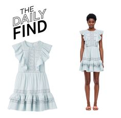 """""""The Daily Find: Rebecca Taylor Dress"""" by polyvore-editorial ❤ liked on Polyvore featuring DailyFind"""