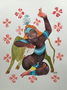 Goverdhandhari. #Krishnafortoday