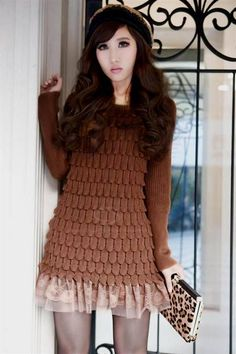 Cool winter sweater dresses 2017-2018 Check more at http://newclotheshop.com/dresses-review/winter-sweater-dresses-2017-2018/