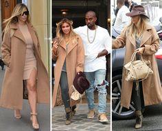 Trend Watch: Kim Kardashian in Oversized Coat