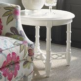 Found it at Wayfair - Ivory Key End Table