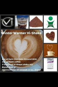 Vi Body Shape Shakes Recipes on Pinterest