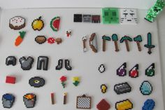"""My Minecraft perler bead collection"" by ogel on...- Blog - DIY"