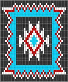Wayuu Mochila pattern Navajo Star: