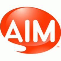 AIM Logo. Get this logo in Vector format from http://logovectors.net/aim-8/