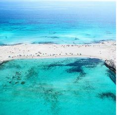 Ses Illetes in Formentera. I often pop over from Ibiza for a mini break or sometimes a wedding!next level! Ibiza Strand, Places To Travel, Places To See, Travel Around The World, Around The Worlds, Formentera Spain, Ibiza Beach, Destinations, Balearic Islands
