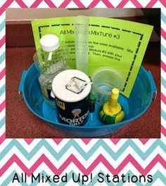 Fun with Mixtures and Solutions Stations!