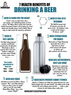 7 Health Benefits of Drinking a Beer – BottleKeeper