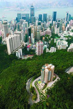 frank gehry - opus hong kong - hong kong - cina #hongkong #china #nilaccra #georarchy