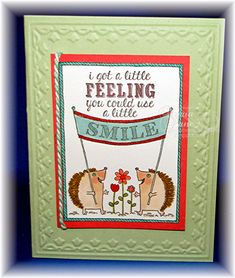 Stampin and Scrappin With Ri Ri: A LITTLE SMILE - STAMPIN UP! STYLE