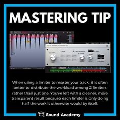 How to master a song in Logic: Full Mastering Class - YouTube