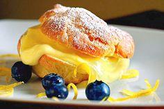 Lemon cream puffs.  Photo by Scott Keeler, St. Petersburg Times