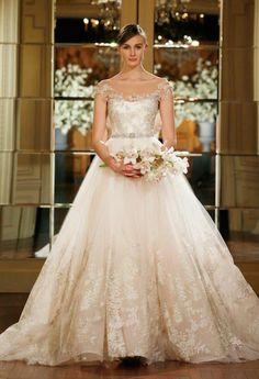 Full-skirted fancy - our top 10 ballgowns   Dreamwedding