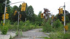 Abandoned crossroads
