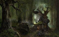Mossy Hut