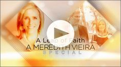"""Did you catch """"A Leap of Faith"""" on #NBC last Friday? In case you missed it, you can watch the 2-hour regenerative medicine special online. Meredith Vieira follows the emotional and inspiring stories of patients treated using their own #stemcells. http://nbcnews.to/1pT1g3d"""