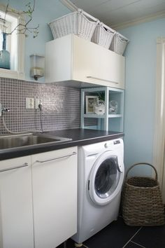 One day I'll have a laundry room that isn't in a dungeon..