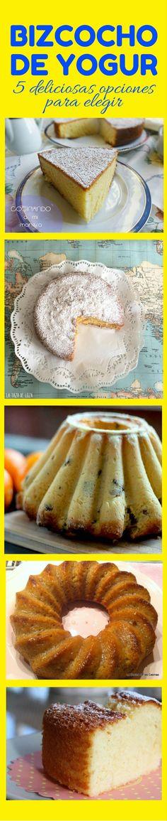 Bizcocho de yogur: 5 deliciosas opciones para elegir Hot Dog Buns, Hot Dogs, Cupcake Cakes, Cupcakes, French Toast, Bakery, Bread, Breakfast, Sweet