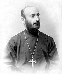 Soghomon Soghomonian known as Komitas. He experienced a mental breakdown after witnessing the horrors of 1915 Armenian Genocide and is considered a martyr of the genocide.