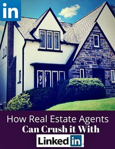 How a Real Estate Agent Can Master LinkedIn: http://www.scoop.it/t/real-estate-by-bill-gassett/p/4038207862/2015/02/28/how-a-real-estate-agent-can-master-linkedin