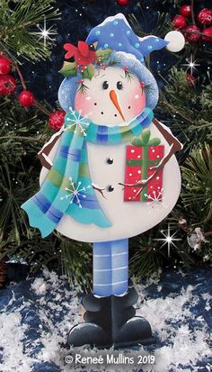 Christmas Decorations Snowman Outdoor Christmas Pendant Ornaments Party Doll