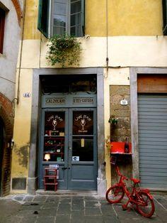 Il Baccanale wine bar. Lucca.