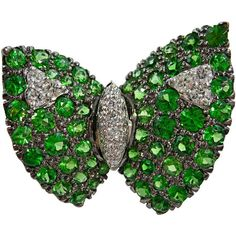 Pre-owned Jona Tsavorite Diamond Gold Butterfly Pin Brooch (63830 MAD) ❤ liked on Polyvore featuring jewelry, brooches, multiple, gold diamond jewelry, pave jewelry, 18k gold jewelry, gold brooch and 18 karat gold jewelry