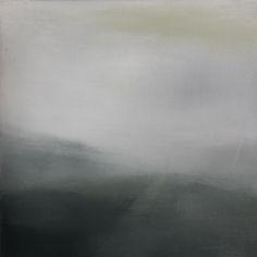Koen Lybaert - Pesture Beck [Landscape N°057] - oil on canvas on wood panel [50 x 50 x 0.5] / 2014