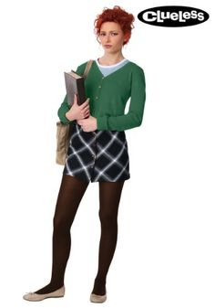 Get your girls together and go as the Clueless ladies this Halloween! This Women's Clueless Tai Costume is like, totally amazing! Tai Clueless, Cher Clueless Costume, Clueless Halloween Costume, Clueless Outfits, Cool Costumes, Costumes For Women, Costume Ideas, Woman Costumes, Pirate Costumes