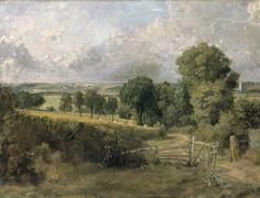 John Constable, 'Fen Lane, East Bergholt' ?1817