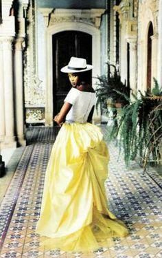 Naomi Campbell for Vogue