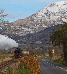 Mountain & Train