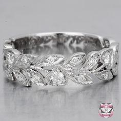<3 - Diamond Wedding Band