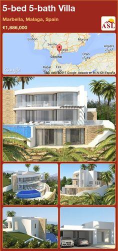 5-bed 5-bath Villa in Marbella, Malaga, Spain ►€1,886,000 #PropertyForSaleInSpain